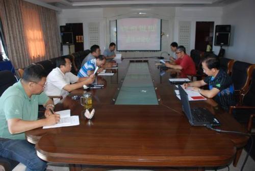 座谈会会议中的现场配合